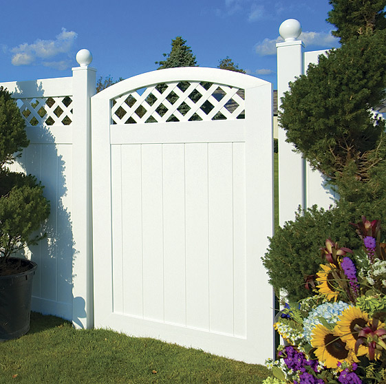 100 Pure Vinyl Virgin Fence Welcome To Good Day Fence