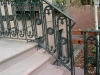 "Custom ""Gothic"" Iron Railing"