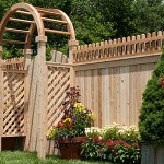 CEDAR, CUSTOM AND STOCKADE WOOD FENCE