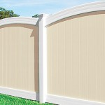 100% Pure Vinyl Virgin Fence