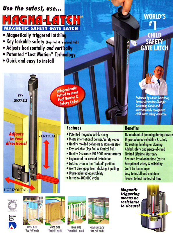 Magnetic Safety Gate Latch Welcome To Good Day Fence