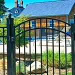 ALUMINUM & STEEL ORNAMENTAL FENCE