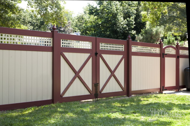 All New Color And Woodgrain Vinyl Fence Welcome To Good