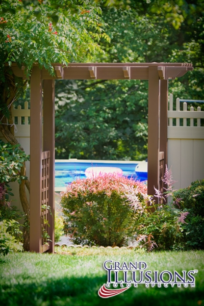 All New Color And Woodgrain Vinyl Fence Welcome To